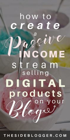 How to Create a Passive Income Stream Selling Digital Products Make Money Blogging, Earn Money, Make Money Online, How To Make Money, Money Tips, Saving Money, Business Tips, Online Business, Etsy Business