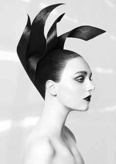 Avant Garde Hairdresser of the year 2014 Contribution // Hair: Pontus Judas Make Up: Silje Noreng Photo: Ola Dybendal Model: Stina Bohlin