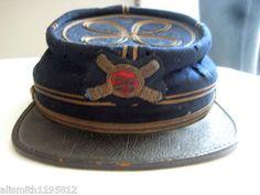 Original Civil War Artillery Captains Kepi 25th Independent Battery NY | eBay