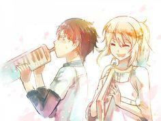 Tags: Anime, Pixiv Id 4052643, Shigatsu wa Kimi no Uso, Arima Kousei, Miyazono Kaori, Melodica