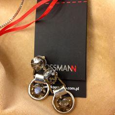 #earrings #klipsy #kolczyki #bizuteria #jewelry #swarovski elements