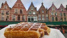 Brugge, Belgium, great waffle