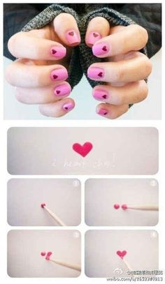 Diy french manicure handmade jade nail art pinterest 19 charts that totally explain how to give yourself a manicure solutioingenieria Image collections