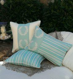 - Karen Robertson / Cayo Collection - Indoor/Outdoor Pillows   Beach Pillows   Coastal Home Pillows