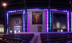 Metropolitan Cathedral of Christ the King - Liverpool, interactive 360 degree photo by Charlie Powell