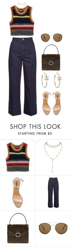"""""""lost control"""" by andy993011 ❤ liked on Polyvore featuring adidas, STELLA McCARTNEY, CÉLINE and Ray-Ban"""