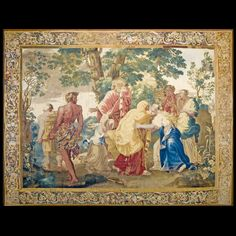 Stock Id: #18888    General Rug Type:       European    Specific Rug Type:       Tapestry    Circa: 1650    Color: Other    Origin: Flander    Width: 10' 0'' ( 304.8 cm )    Length: 12' 8'' ( 386.1 cm )
