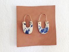 Martina Thornhill Ceramic Splatter Earrings