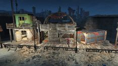 This mod will be constantly updated with new designs to inject in your sim settlements system. Fallout Mods, Fallout Settlement, Nuka World, Pip Boy, Vault Tec, Fall Out 4, Industrial Revolution, Slums, New City