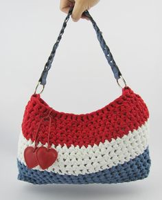 Dutch handbag made by Hoooked