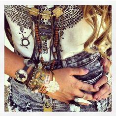 #boho #hippie #style #gypsy