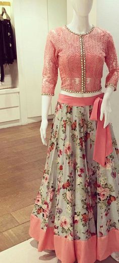 Buy comfort womens dresses and skirts in Pakistan at Oshi. Book Online womens dresses and skirts in Karachi, Lahore, Islamabad, Peshawar and All across Pakistan. This skirt ♡ Pakistani Dresses, Indian Dresses, Indian Outfits, Lehenga Designs, Indian Attire, Indian Wear, Girl Fashion, Fashion Outfits, Fashion Design
