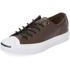 f3ba118476e Converse Converse Women s Converse x Jack Purcell Tumbled Leather Low...  ( 69) ❤ liked on Polyvore featuring shoes