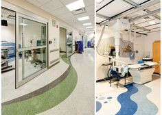 Children's Hospital of the King's Daughters: MRI and Radiology Suite - Norfolk, VA | #Toli #FasolPlus and #Linotesta | #spartansurfaces #floorscore
