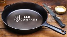 Lighter, Smoother Cast Iron—an American classic meticulously redesigned with a modern twist: The Field Skillet