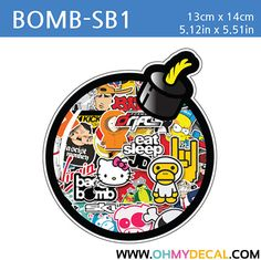 [ Bomb - SB1 ] STICKER BOMB SERIES