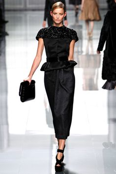 fall 2012 ready-to-wear  Christian Dior  Runway  Michaela Kocianova (ELITE)    view fullscreen›  Photo: Monica Feudi/ Feudiguaineri.com