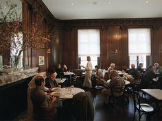 """""""I like to eat at Café Sabarsky when I go to the Neue Gallery."""" -Frédéric Malle (Location: Café Sabarsky)"""