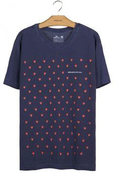 Osklen - T-SHIRT STONE TRIDENTE MICRO MC - t-shirts - men