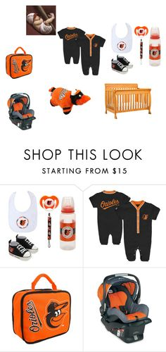 Orioles Baby. Baseball. Orange and Black. Possibly Unisex.