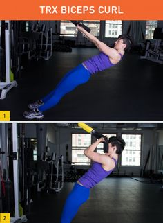 Maybe you've seen these black-and-yellow straps around your gym, but now it's time to put... http://greatist.com/fitness/effective-TRX-exercises