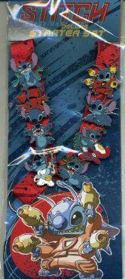 Disney Stitch Delux Lanyard Starter Set
