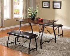 Acme Jabari 3PC Pack Dining Table Set 70345 $194.60