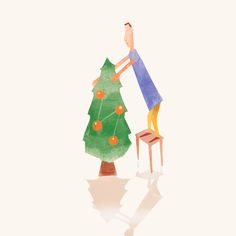 christmas on Behance
