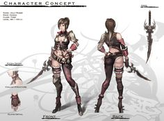 Concept : Human Female Thief by ~reaper78