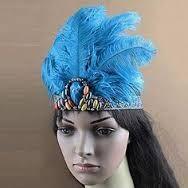Resultado de imagen para tocados con plumas para carnaval