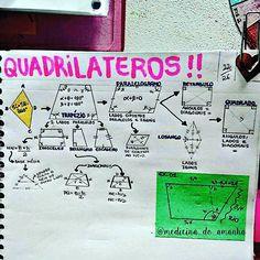 """#RESUMO #MATEMÁTICA #QUADRILÁTEROS #GEOMETRIA <span class=""""emoji emoji2764""""></span><span class=""""emoji emoji2764""""></span><span class=""""emoji emoji2764""""></span> Também já está disponível para download no ..."""