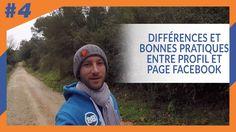 Différences et BONNES pratiques entre Profil et Page Facebook