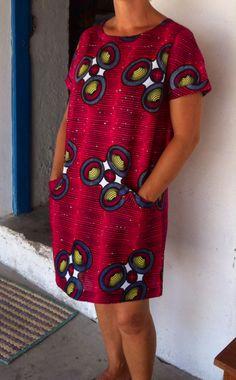 Vestido saakata ~DKK ~ Latest African fashion, Ankara, kitenge, African women dresses, African prints, African men's fashion, Nigerian style, Ghanaian fashion.