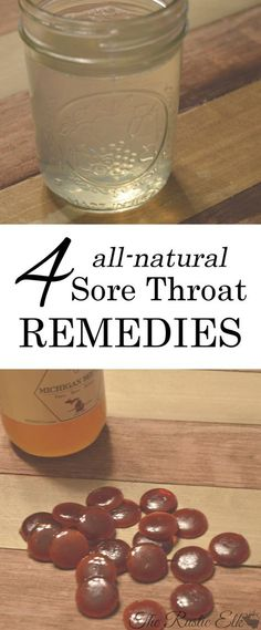 In an ideal world, we would never need a sore throat remedy. The natural preventatives we use every cold and flu season would keep us from ever getting sick in the first place. Alas, we don't live in a perfect world and it never works out. Here are 4 all-natural sore throat remedies to soothe the hurt!