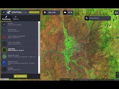 Combinaciones en línea de bandas satelitales Sentinel 2