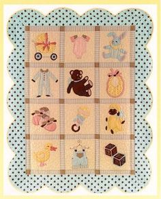 I love this pattern. Lullaby by Vintage Spool