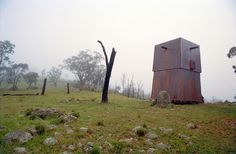 'mudgee permanent camping' dwelling by casey brown architecture  LOVE THIS!!!