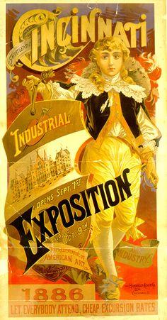 1886 Industrial Exposition - Lucy Parsons spoke in Cincinnati Ohio