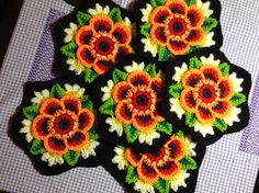 Ravelry: shan's Frida's Flowers Blanket - Frida's Flowers Blanket CAL 2016 ... Variation ...