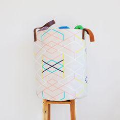 XXLarge Geometric Laundry Hamper Laundry Basket par LoveJoyCreate