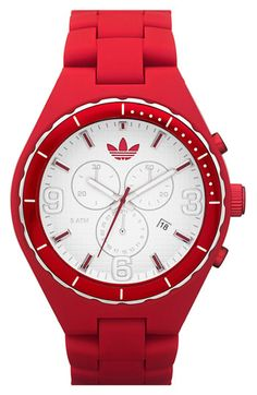 adidas 'Resin Cambridge' 44mm Chronograph Watch