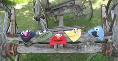 Newborn-Adult Sesame Street Hats!  I have a pattern to share! I am going to attempt to share with you how to make these OH! So CUTE! Sesam...