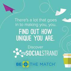 BeTheMatch.org - register as a bone marrow donor!!