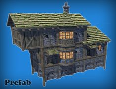 Elevate your workflow with the Fantasy Medieval House Kit asset from CrazyCool. Find this & other Fantasy options on the Unity Asset Store. Easy Minecraft Houses, Minecraft Castle, Minecraft Houses Blueprints, House Blueprints, Minecraft Staircase, Minecraft Decorations, Minecraft Bedroom, Minecraft Crafts, Minecraft Ideas