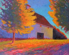 October Sun - Peter Batchelder : : New England Based Contemporary Fine Artist