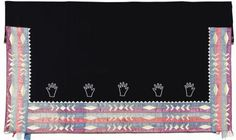 Osage Woman's Friendship Blanket. Circa 1900. Length 55 1/2   Lot #48103   Heritage Auctions