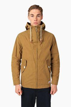 Penfield Tan Gibson Classic Rain Jacket