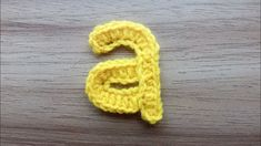 A, Crocheting Alphabet a, How to Crochet Small Letter a, Lower Case Crocheting Tutorial. Hello, In this Video I am going to show you how to crochet small letter a. Here I am using Half Double Crochet Stitch to make the Adorable letter a. Crochet Alphabet Letters, Crochet Letters Pattern, Letter Patterns, Applique Patterns, Crochet Patterns, Small Letters, Lower Case Letters, Small Alphabets, Crochet Instructions