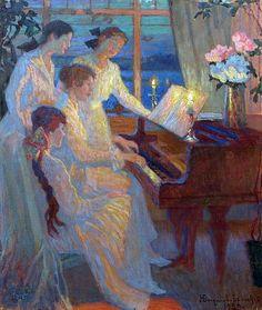 """Nikolay Bogdanov-Belsky:  """"Symphony"""""""