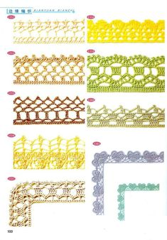 Crochet trim patterns 9 pieces lace edge immediate Crochet Lace Trim Pattern ~ Find Out Further aspirations Over Perfect 45 Pics Crochet Lace Trim Pattern with Regard to Distinctive Crochet Lace On Crochet Lace Trim Pattern Crochet Boarders, Crochet Edging Patterns, Vintage Crochet Patterns, Crochet Lace Edging, Lace Patterns, Cotton Crochet, Crochet Trim, Crochet Edgings, Diy Crochet